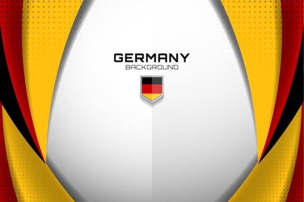 Bandeira da alemanha conceito fundo