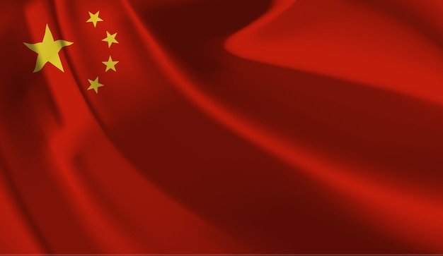 Bandeira da china. bandeira da china