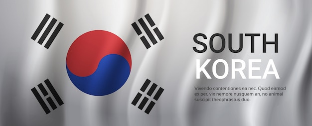 Bandeira da coreia do sul