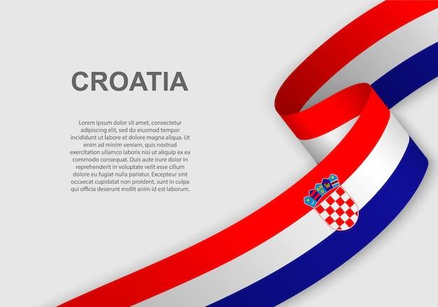 Bandeira da croácia.