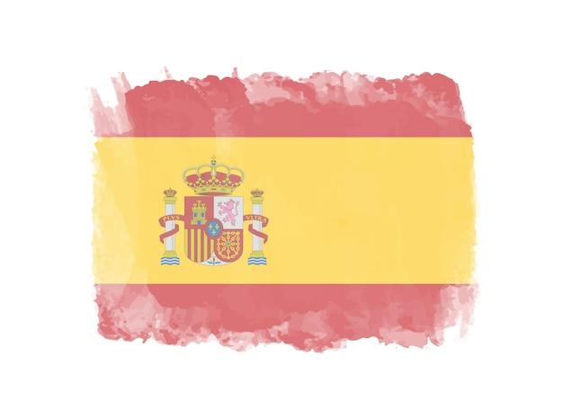 Bandeira da espanha grunge