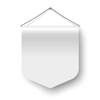 Bandeira da flâmula branca.