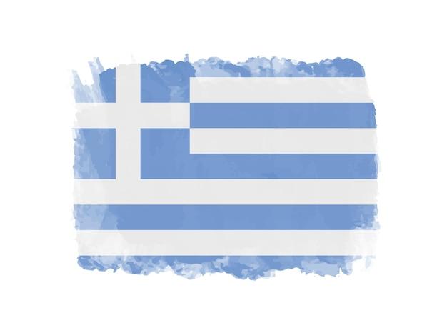Bandeira da grécia grunge