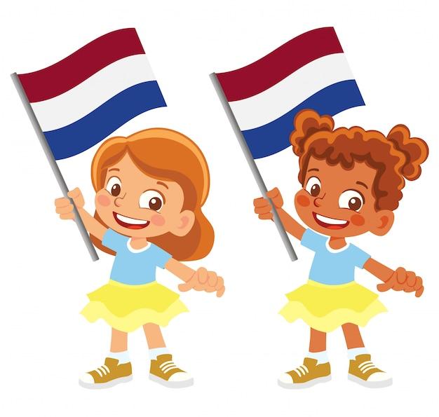 Bandeira da holanda em conjunto