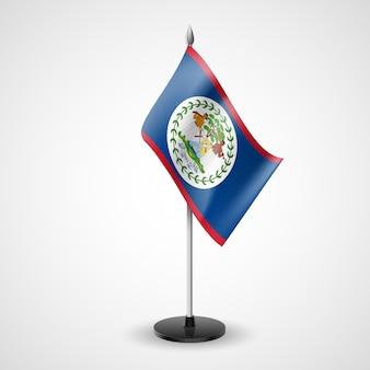 Bandeira da mesa estadual de belize