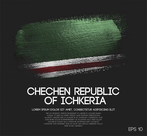 Bandeira da república chechena da ichkeria