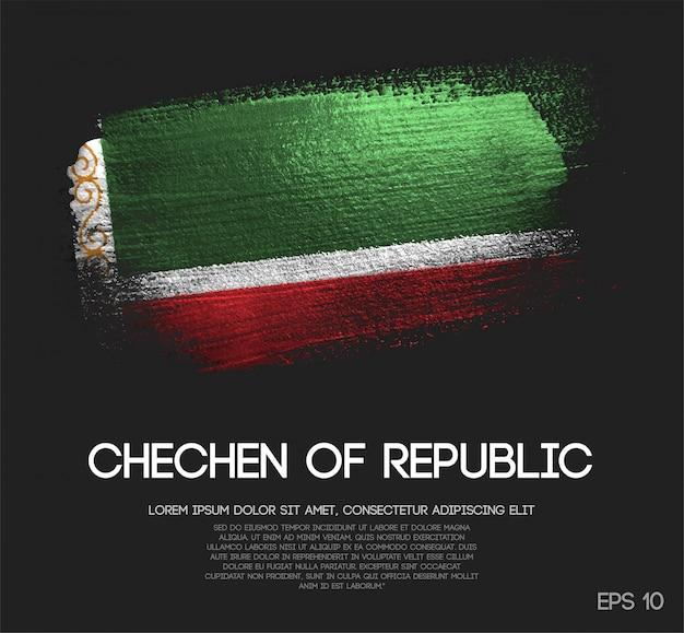 Bandeira da república chechena