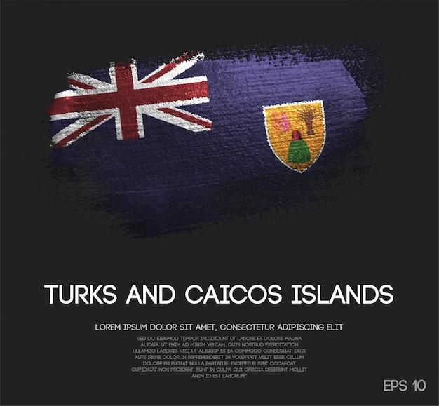 Bandeira das ilhas turks e caicos
