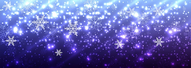 Bandeira de brilhos brilhantes lindos feliz natal