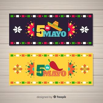 Bandeira de cinco de mayo