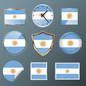 Bandeira de coleção argentina