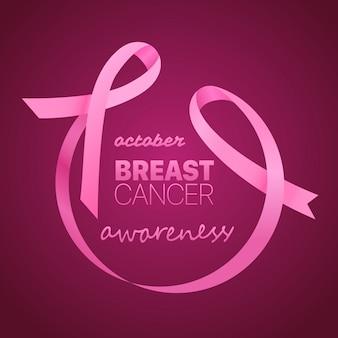Bandeira de conscientização de câncer de mama