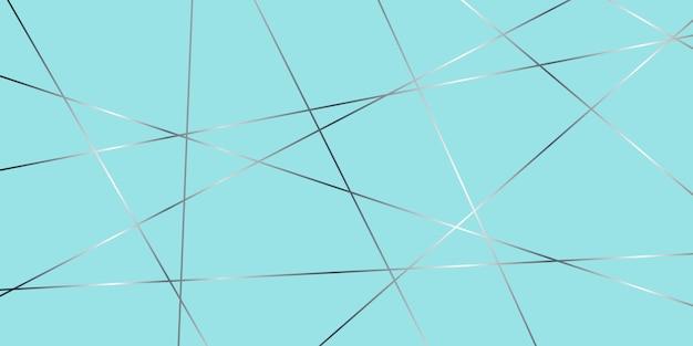 Bandeira de design abstrato baixo poli