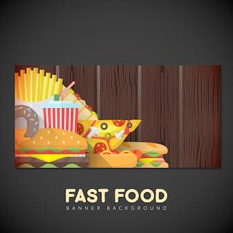 Bandeira de fast food