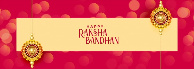 Bandeira de festival bandhan raksha feliz