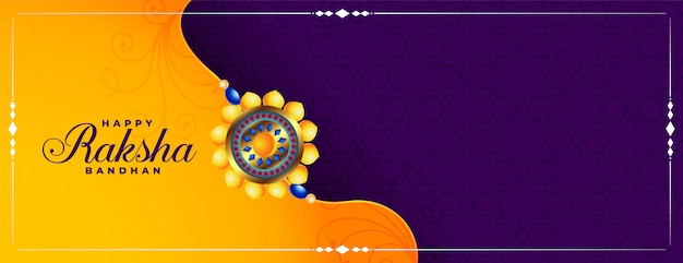 Bandeira de festival indiano decorativo raksha bandhan