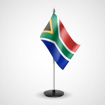 Bandeira de mesa da áfrica do sul