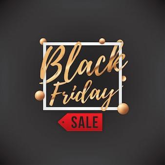 Bandeira de venda de sexta-feira negra
