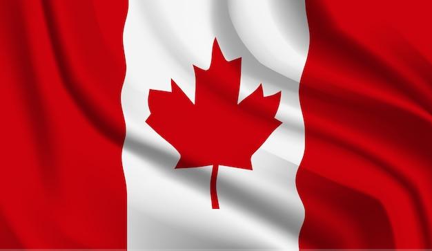 Bandeira do canadá. bandeira do canadá