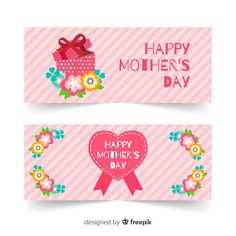 Bandeira do dia das mães de presente