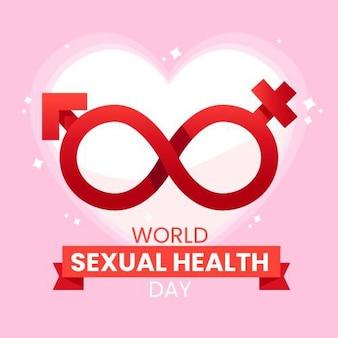 Bandeira do dia mundial da saúde sexual