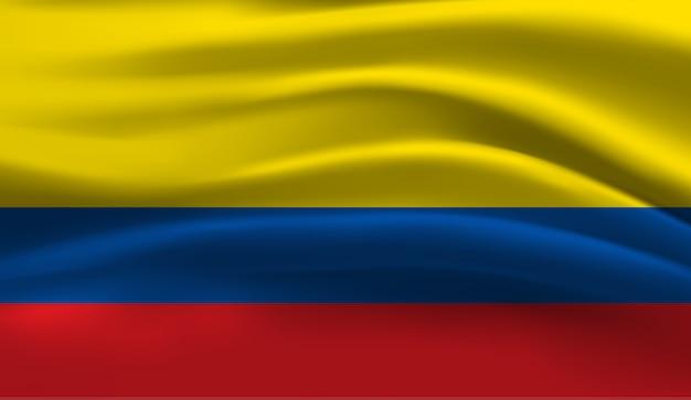 Bandeira do equador. bandeira do equador