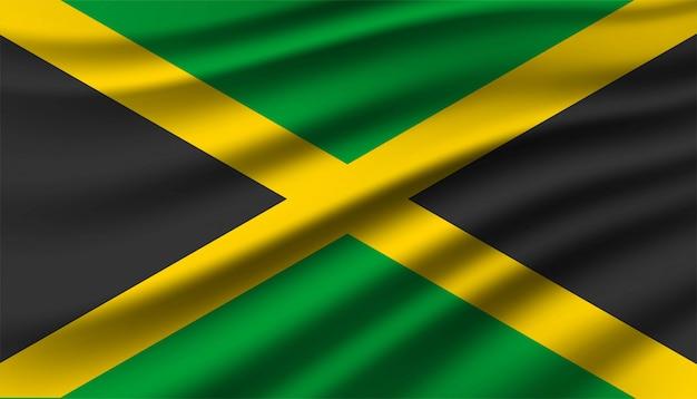 Bandeira do fundo da jamaica.