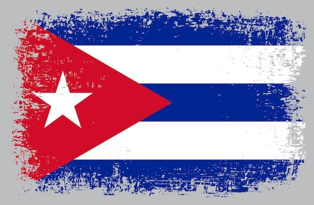 Bandeira do grunge de cuba