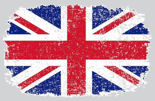 Bandeira do grunge do reino unido