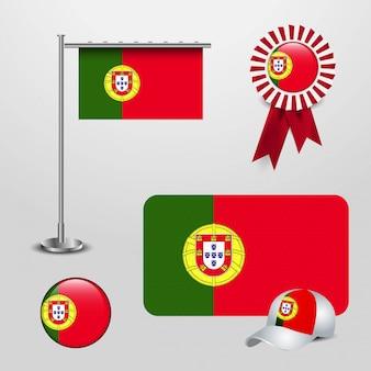 Bandeira do país de portugal