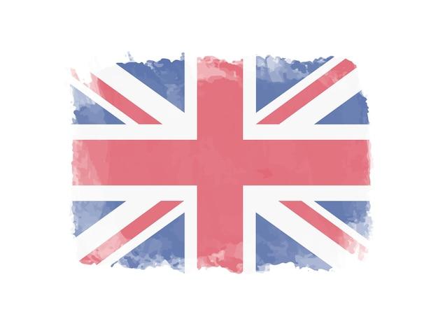 Bandeira do reino unido grunge
