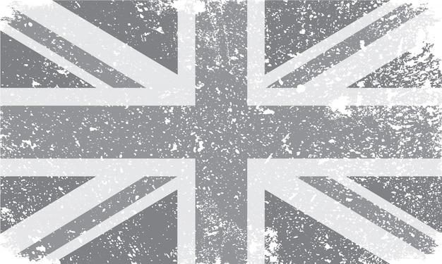 Bandeira do reino unido vintage