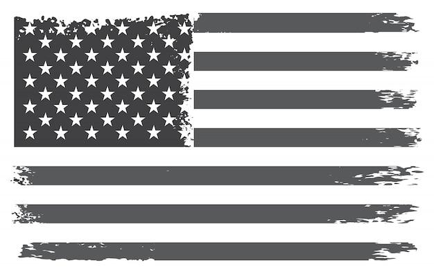 Bandeira do vintage dos estados unidos