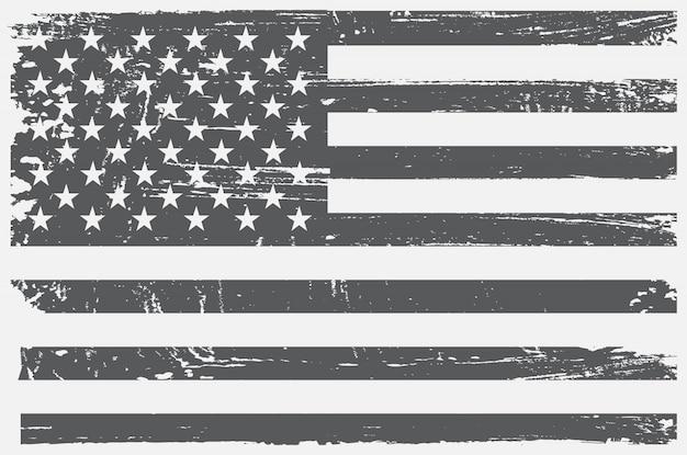 Bandeira dos eua vintage