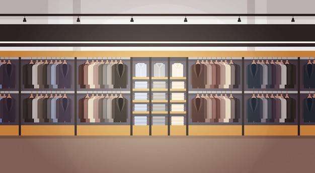 Bandeira interior do shopping masculino grande da roupa do mercado do supermercado da loja da forma com espaço da cópia