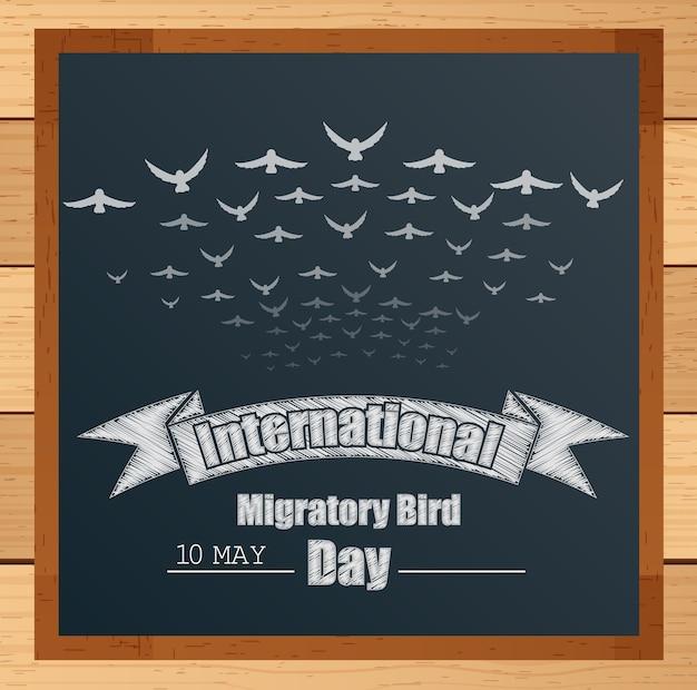 Bandeira internacional de aves migratórias