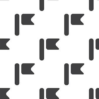 Bandeira, padrão sem emenda de vetor, editável pode ser usado para planos de fundo de páginas da web, preenchimentos de padrão