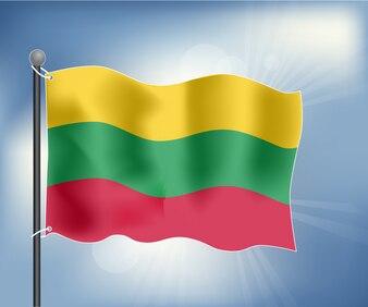 Bandeira realista da Lituânia
