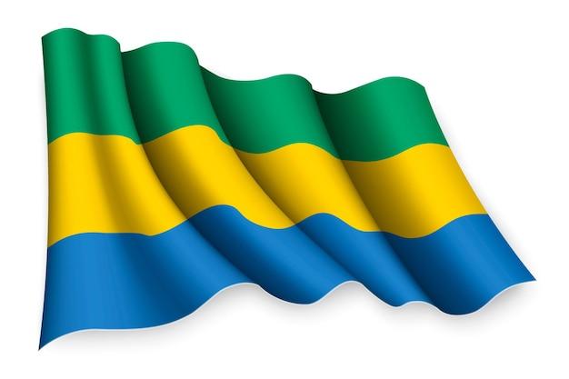 Bandeira realista do gabão