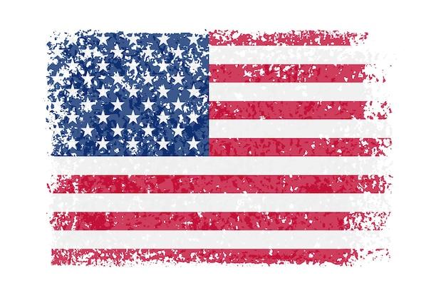 Bandeira vintage dos eua