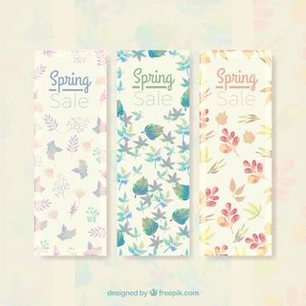 Bandeiras bonitos venda primavera florida