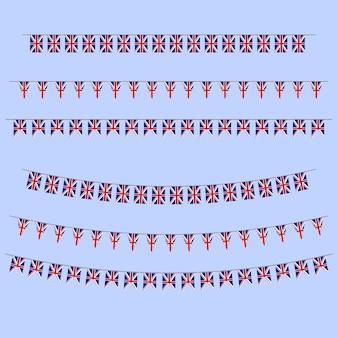 Bandeiras de inglaterra bunting
