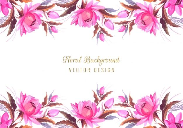 Bando lindo casamento fundo floral