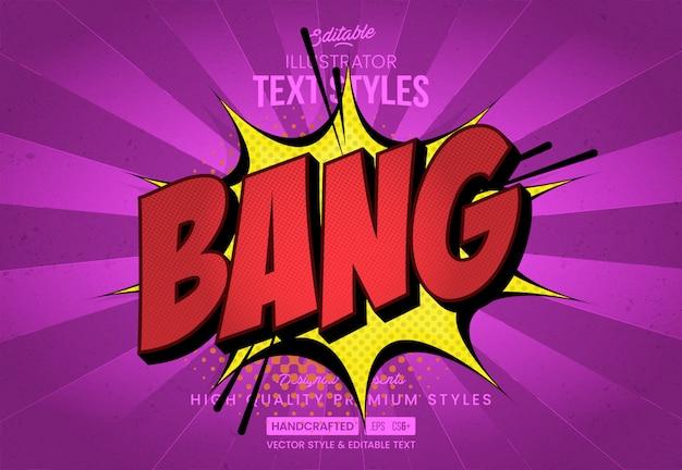 Bang bang text style