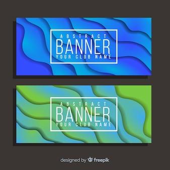 Banner abstrato