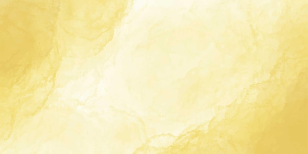 Banner aquarela ouro amarelo