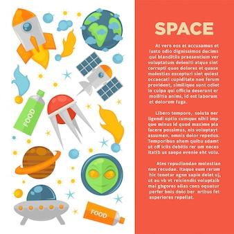 Banner comercial de espaço