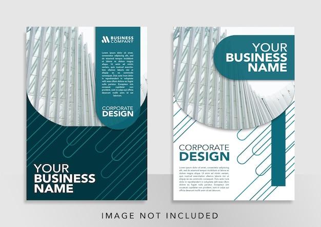 Banner corporativo de design de modelo de promoção de capa de livro para promoção de mídia social