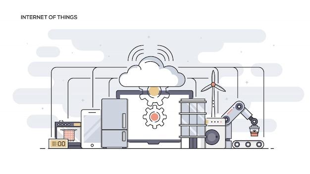 Banner da internet das coisas