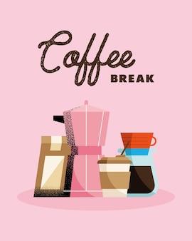 Banner da pausa para o café